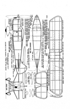 FosterWicknerWickoGM1 model airplane plan