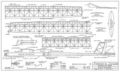 Fosters Coupe model airplane plan