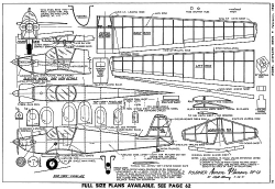 Fournier Avion Planeur RF-01 model airplane plan