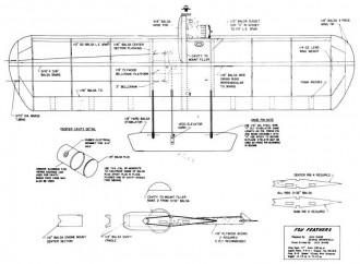 Fox Feathers model airplane plan