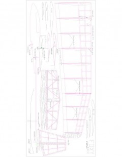 Foxy Model 1 model airplane plan