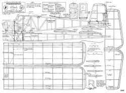 Frankenstein model airplane plan