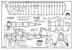 Fred model airplane plan