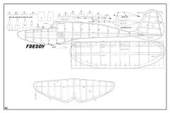 Freddy model airplane plan