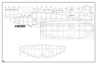 Freddy model airplane plan