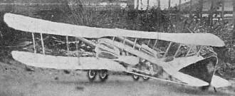 Friedrichshafen G II model airplane plan