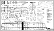 Frog Interceptor 46in model airplane plan