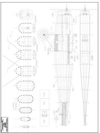 Frog Interceptor MkIV Parasol model airplane plan