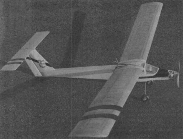 Fujavak model airplane plan