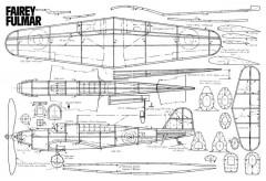 Fulmar model airplane plan