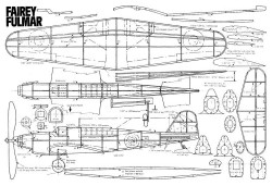 Fulmar model airplane plan