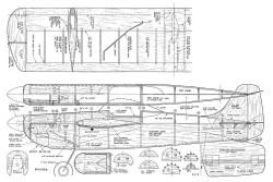 Funster 1949 model airplane plan
