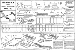 Furetto model airplane plan