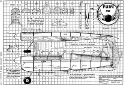 Fury Screwball VIII model airplane plan