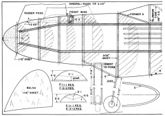 Future Fighter p1 model airplane plan
