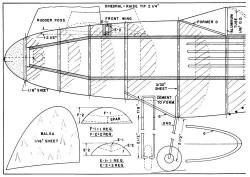 Future Fighter p1 model airplane plan