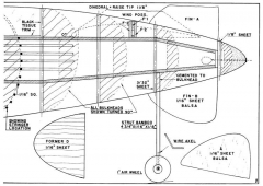 Future Fighter p2 model airplane plan