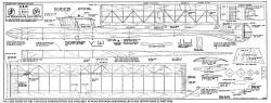G.B.IX model airplane plan