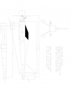 GRUNT Model 1 model airplane plan