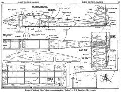 Galloper model airplane plan