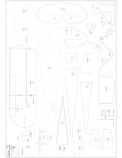 Garden Cub p2 Model 1 model airplane plan
