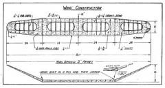 Gas Model p2 model airplane plan