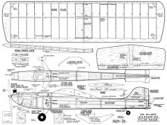 Gasser 2 model airplane plan