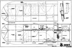GeeBee Z 2 model airplane plan