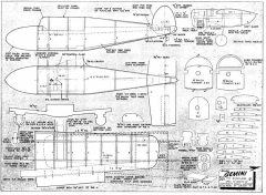 Gemini model airplane plan