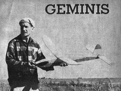 Geminis model airplane plan
