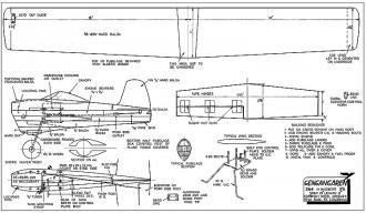 Gengagaren cleaned model airplane plan