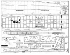 Gentle Lady model airplane plan