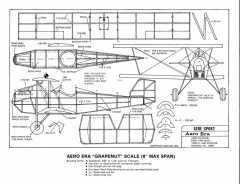 Gere Sport-Aero Era model airplane plan