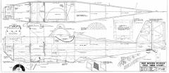 Gere Sport 96in 2 pages model airplane plan