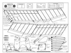 Ghoul BW Print model airplane plan