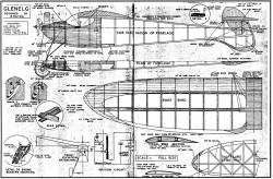 Glenelg model airplane plan