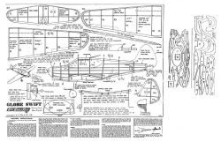GlobeSwift model airplane plan