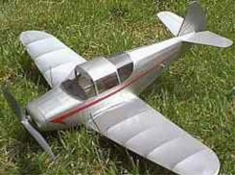 Globe Swift model airplane plan