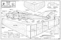 Go-Jet Les-Rudd plan model airplane plan