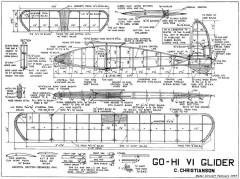 GoHi MkVI model airplane plan