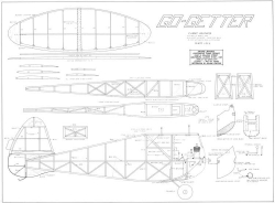 Go Getter model airplane plan