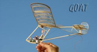 GOAT model airplane plan
