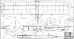 Goblin 42in model airplane plan