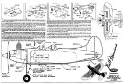 Golden Hawk model airplane plan