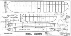 Gollywock 1944 Air-Trails model airplane plan