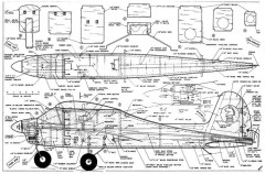 Good Knight model airplane plan