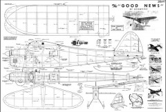 Good News model airplane plan
