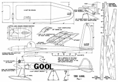 Gool 108in model airplane plan