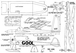 Gool 108in model airplane plan