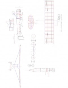 Gordou Leseurre C1 Model 1 model airplane plan